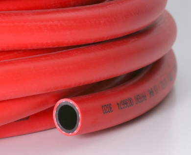 Click to enlarge - This hose is designed for use on fire hose reel in cabinets. Has a durable life and is abrasion and ozone resistant.