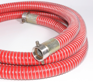 Click to enlarge - Vapour recovery hoses are specially manufactured for use on vapour return lines. Light and flexible yet strong enough to cope with on road and rail tanker applications.