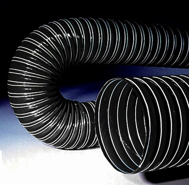 Click to enlarge - Robust, vacuum lifting hose with resistance to oils, greases, solvents and industrial chemicals.
