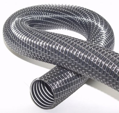Click to enlarge - Highly flexible PVC hose used on vacuum cleaners. Can be used on a variety of applications and has an attractive cosmetic finish.