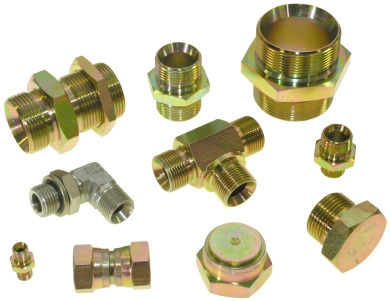 Click to enlarge - Hydraulic Hose adaptors come in shapes, sizes and threads. We stock BSP, JIC, Metric, ORFS, UNF, NPT, NPSM and some JIS in all manner of combinations. Again, we have a separate catalogue for these items that can be sent on request.