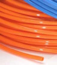 Click to enlarge - Flexible lightweight nylon tubing possessing good mechanical strength and resistant to a wide range of chemicals, liquids and gases. Can be used with push-in, compression and spigot type fittings.
