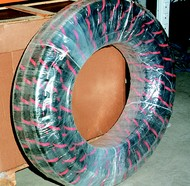 Click to enlarge - Oil/suction delivery hose used in hydraulic return/suction lines.