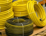 Click to enlarge - A premium quality, long length moulded air hose for general workshop uses. Made from a special rubber/PVC alloy, this hose handles well and provides a very reliable product at a competitive price.