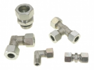 Click to enlarge - Metric and Imperial compression fittings are stocked covering the complete range of sizes and styles. A full catalogue is available on request.