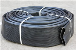 Click to enlarge - Premium quality layflat hose for linear travelling irrigation reels. Resistant to vermin and mildew attack. Also used as a heavy duty dredging hose.