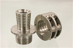 Click to enlarge - These stainless steel couplings have been specially designed to fit with Oroflex 40 and Oroflex 60. Machined from high grade 316 stainless steel, these couplings will give a long service life and are fully warranted for use with Oroflex hoses.