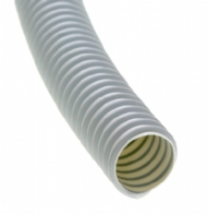 Click to enlarge - PVC suction hose for air, grains, powders, dust. Can be manufactured antistatic upon request. 